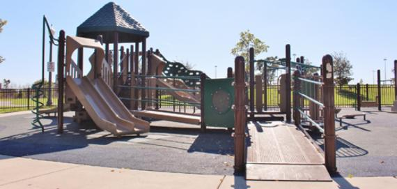 The playground at Park No. 540