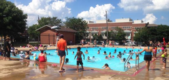 The pool at Smith Park