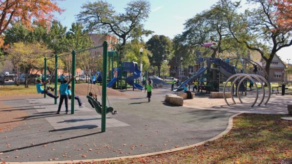 The playground at Union