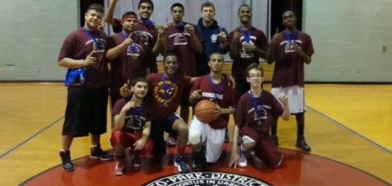 Teen Basketball Team at Warren Park