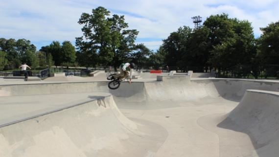 Lincoln Park Wilson Skate Park