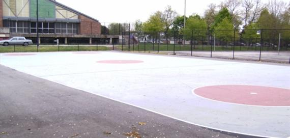 Mann Park Basketball Court