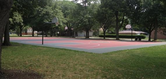 Ada Park Outdoor Basketball Court