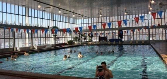Check out our indoor pool at Welles Park.