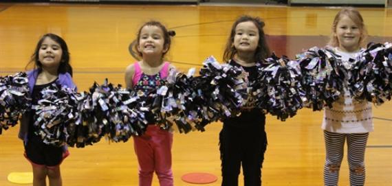 We love our little cheerleaders!