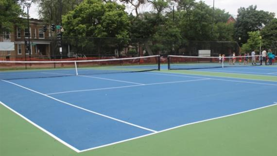 Welles Tennis Court