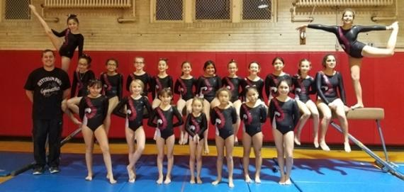 Jefferson Park Gymnastics!