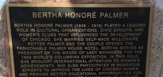 Welcome to Bertha Honoré Palmer Park
