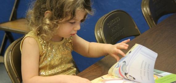 Storytelling is an essential part of kiddie college!