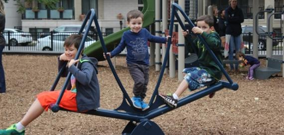 We are lovin' our new playground!