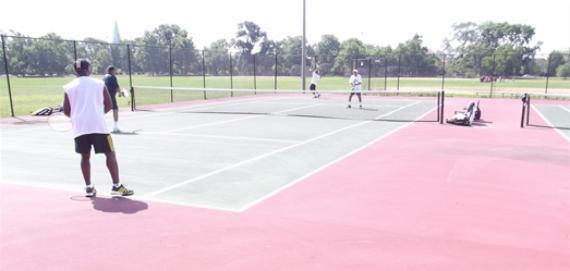 Palmer Park Tennis Court