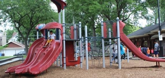 new ChicagoPlays! playground at Paschen Park