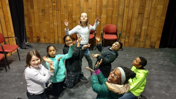Theater practice!