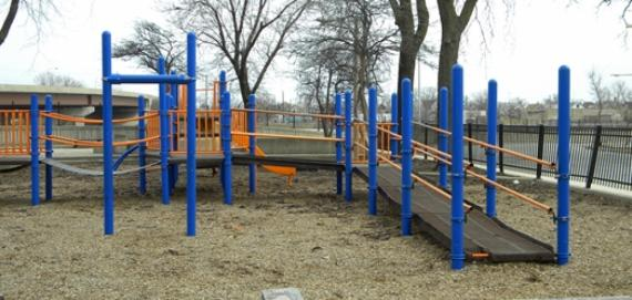 The playground at Periwinkle Park