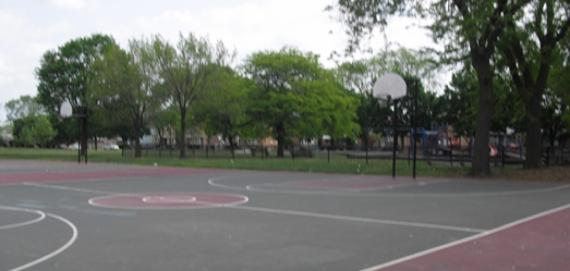 Euclid Park Outdoor Basketball Court