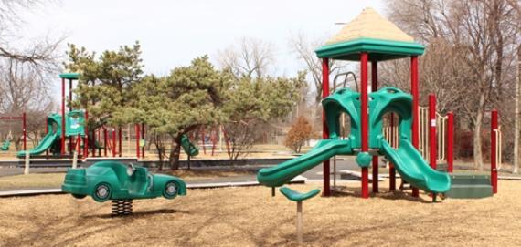 Legion Park Chicago Plays! Playground