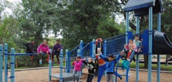 new Chicago Plays! playground at Ronan Park