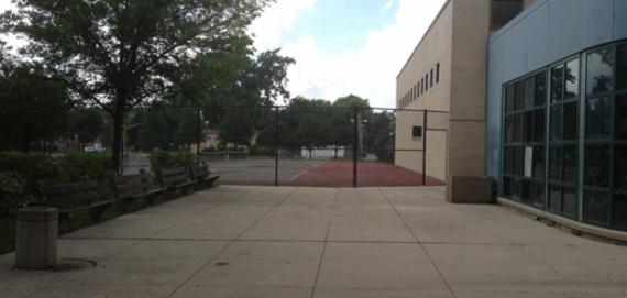 Ada Park Tennis Court