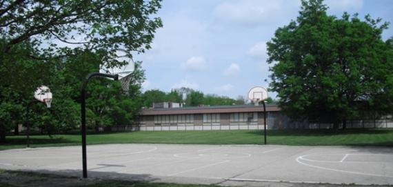 Jackie Robinson Park Outdoor Basketball Court