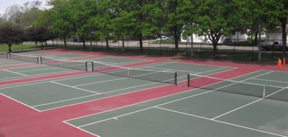 West Pullman Park Tennis Court