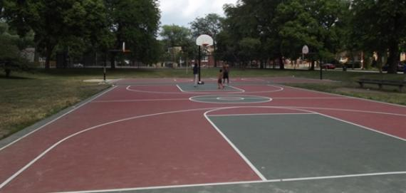 Tuley Park Outdoor Basketball Courts