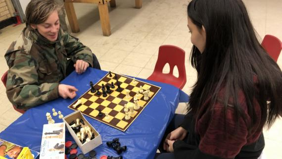 Our teens love chess