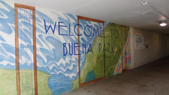 Buena Avenue Underpass Murals