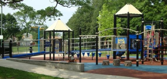 Playground at Rosedale Park.