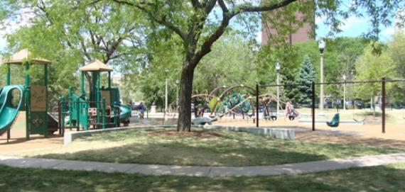 newly renovated Buttercup Playground