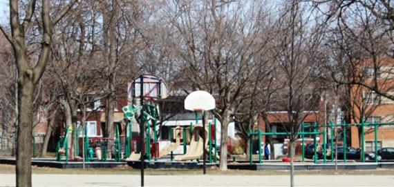 Levin Park Basketball Courts