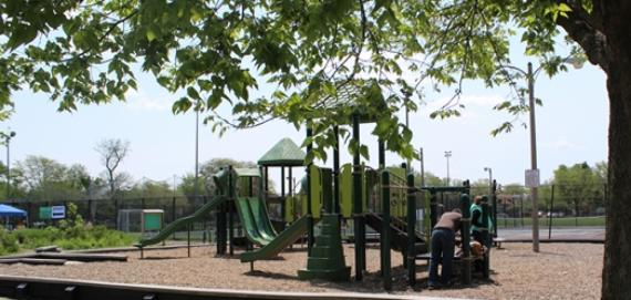 Enjoy our playground at Kilbourn Park.