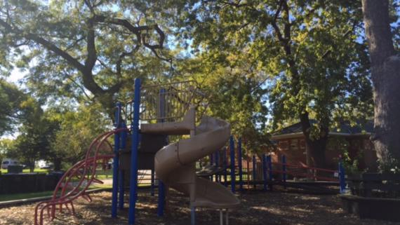 Playground at Diversey Drive Range