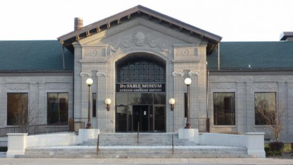 Outside view of the DuSable Museum