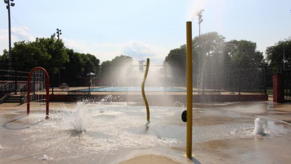 Dvorak Water Spray Feature