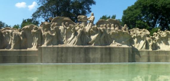 Washington Park Fountain of Time