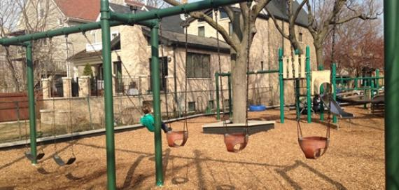 Great day to enjoy the swings at Zatterberg Park