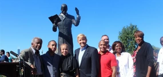 Dunbar Statue Unveiling