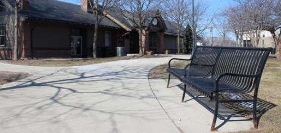 Centennial Park Bench