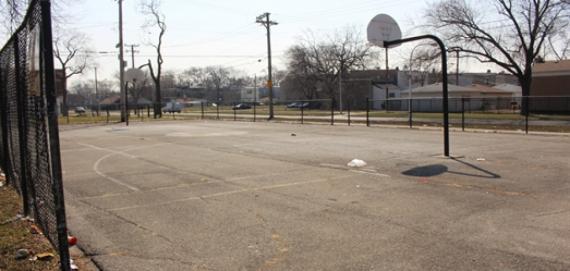 Ohio & Harding Park Basketball Court