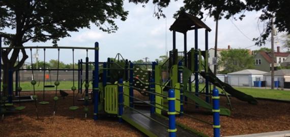 Beifuss Playlot playground equipment.