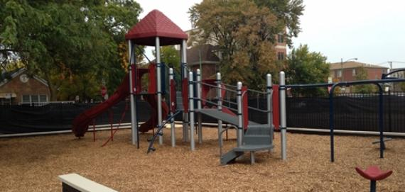 The new Donovan playground