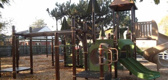 A delightful Chicago Plays! playground for the community to enjoy