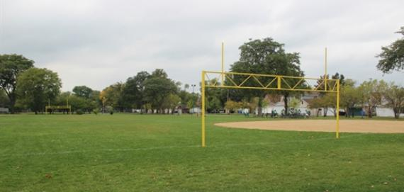 Are you ready for some football? Check out Brooks Park.