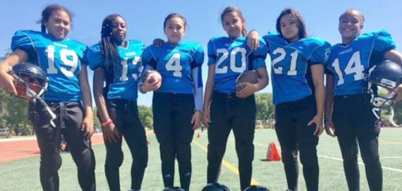 Eckhart Park Lady Panthers football!