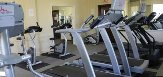 Get fit by joining the fitness center at Kelvyn Park.