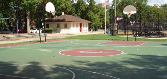 Hoyne Basketball Field
