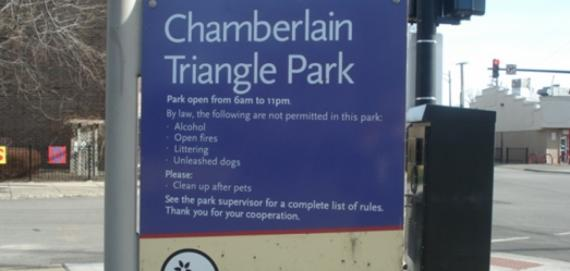 Chamberlain Triangle Park