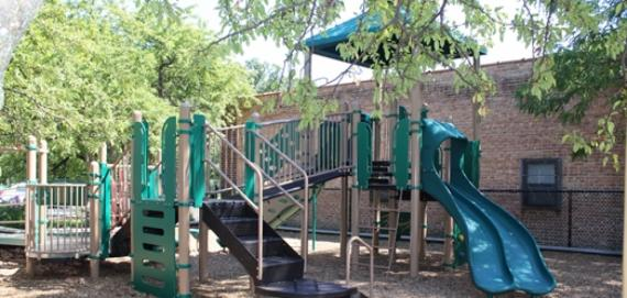 new Chicago Plays Playground at Brynford Park