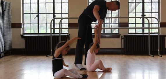 Phil is shaping our future ballerinas!