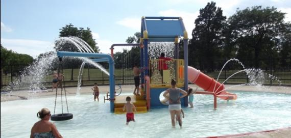 Hale Park Water Playground